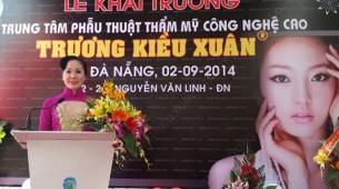 Khai trương Thẩm mỹ viện Đà Nẵng