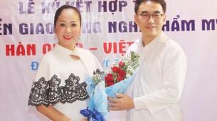 Trung tâm phẫu thuật thẩm mỹ Trương Kiều Xuân kí kết hợp tác Việt- Hàn