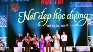 """Tài trợ cuộc thi """" Nét đẹp học đường"""" tại Huế"""