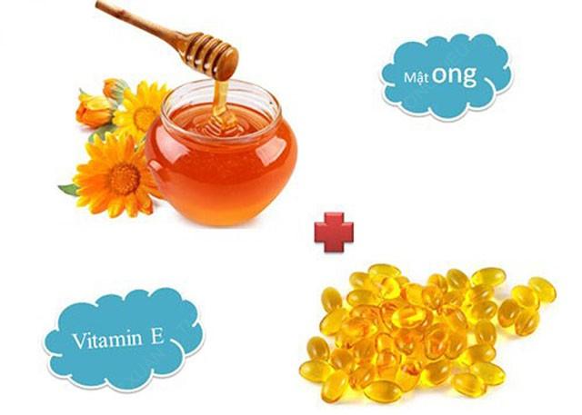 Mật ong và vitamin E được xem là cách làm hồng nhũ hoa tại nhà